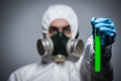Concept for Virology and diseases - stock photo