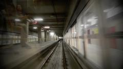 Stock Video Footage of MILAN SUBWAY 04 edit