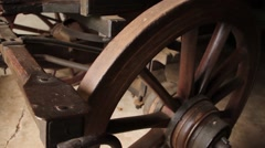 Wagon wheel Stock Footage
