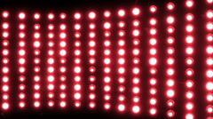 Party lights (flashing lamps) (+100 piece) Stock Footage