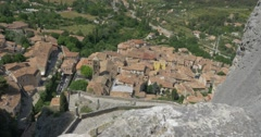 4K, Moustiers-Sainte-Marie, France Stock Footage