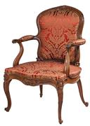 Arm chair vintage retro Stock Photos