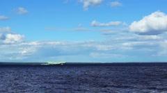 Passenger hydrofoil vessel Meteor Stock Footage