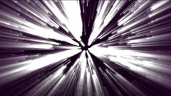 Looped bright animated glow of light Stock Footage