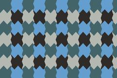 Textile pattern design or wallpaper. With irregular geometric shapes Stock Illustration