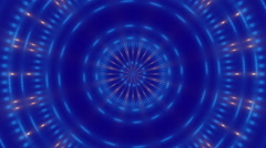 blue abstract motion background, loop - stock footage