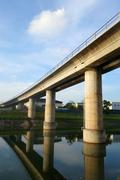 Track of Singapore mass rapid train - stock photo