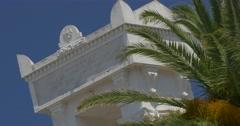 4K, Civitas Calvi Monument, Calvi, Corsica Stock Footage