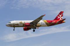 Air Malta Airbus A320 - stock photo