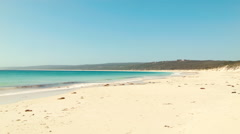 Beautiful Hamelin Bay Beach in Australia's South West Stock Footage