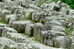 Ingapirca Ruins In Ecuador Stones From Temple Of The Sun Where Stolen By Local - stock photo