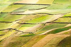 Stock Photo of Agriculture Landscape In Ecuadorian Andes