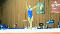 Ukraine Nation CUP (Stella Zakharova Cup) 2015.  Stock Footage