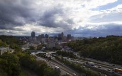 Cincinnati Skyline Kuvituskuvat