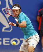 Argentinian tennis player Leonardo Mayer Stock Photos