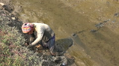 Traditional Crab Hunter - 3 Stock Footage