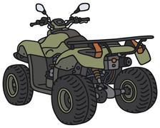 All terrain vehicle - stock illustration