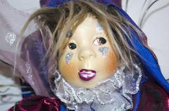Porcelain fairy doll Stock Photos