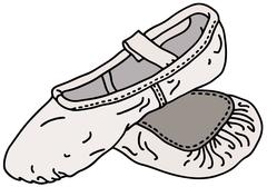 Stock Illustration of Ballet shoes