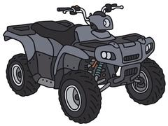 All terrain vehicle Stock Illustration