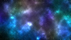Galaxy space nebula background Stock Illustration