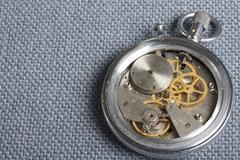 broken stopwatch - stock photo