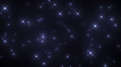Fantasy Sparkle Glitter Background Loop Stock Footage
