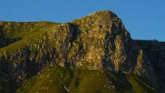 4K Mountain Afternoon Light and Shadows Time Lapse Stock Footage