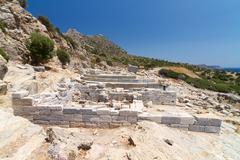 Ruins of Knidos, Datca, Turkey - stock photo