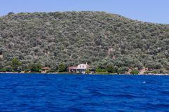 Aegean Coast - stock photo