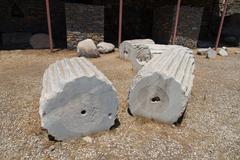 Mausoleum at Halicarnassus Stock Photos