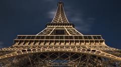 Eiffel Tower The Icon of Paris Stock Photos