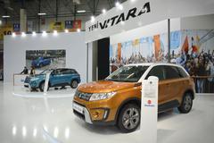 New Suzuki Vitara - stock photo