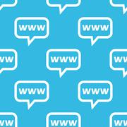 WWW message pattern Stock Illustration
