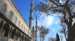 Blue Mosque, Istanbul Stock Footage