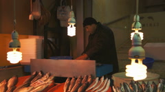 People shopping in the Grand Bazar in Istanbul, Turkey Stock Footage