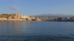 Chania, Crete, Greece Stock Footage