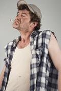 Egocentric Redneck - stock photo