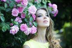 Alluring woman portrait - stock photo