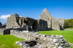 Glenluce Abbey, Scotland - stock photo