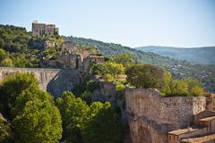 View of Saint Saturnin les Apt, Provence, France Stock Photos