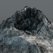Mountain Peak High Poly - 3D model