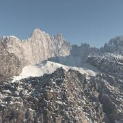 Mountain Peak 2 High Poly 3D Model - 3D model
