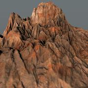 Prehistoric Volcano High Poly 3D Model - 3D model