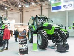 International Trade Fair AGROSALON - stock photo