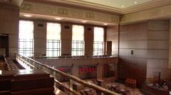 United States Senate Empty Meeting Room - stock footage