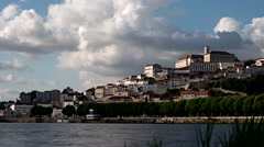 Coimbra, Portugal (time lapse) Stock Footage