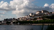 Stock Video Footage of Coimbra, Portugal (time lapse)