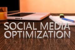 Stock Illustration of Social Media Optimization