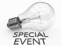Special Event - stock illustration